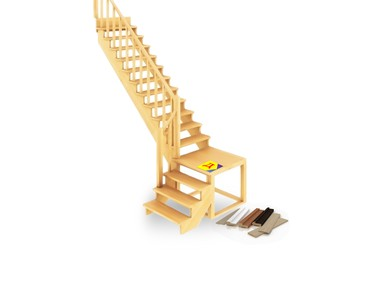 Элементы лестниц и погонаж липа/осина