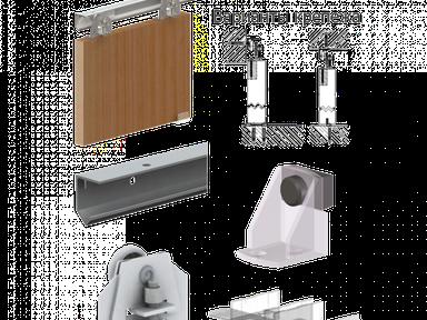 Комплект фурнитуры JUPITER JU24 1200 мм