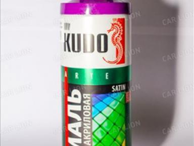 Краска аэрозоль KUDO 520мл сатин сигнально-фиолетовая RAL4008