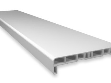 Подоконник ПВХ белый 350 мм