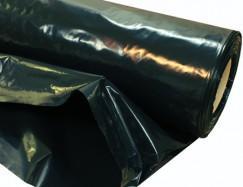 Пленка полиэтиленовая 1500х150 мкр рукав (черная)
