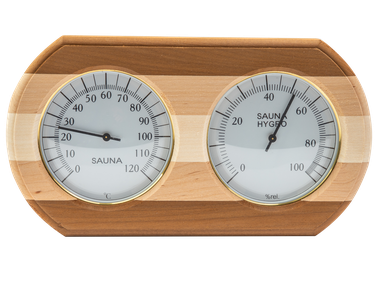Термогигрометр овал ТН-20С (Контраст)