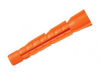 Дюбель пласт.6х42 (130шт)(оранж)