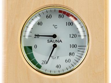 Термогигрометр квадрат ТН-11Л (Липа)