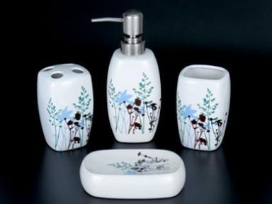 Набор для ванной керамика, 4 пред. ST-YH900029-4