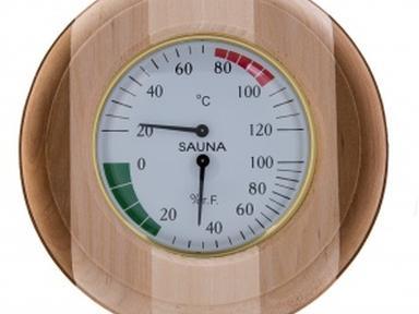 Термогигрометр овал ТН-10С (Контраст)