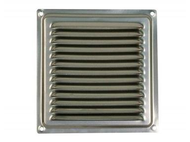 Решетка вент. 150х150 хром