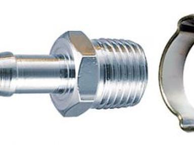 Переходник FUBAG 1/4F на елочку 8мм,8*13 арт.180251 В