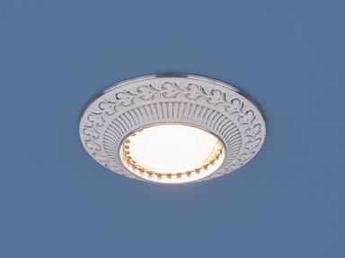 Светильник точ - 4103 MR16 WH/CH бел/хром