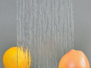 Стекло узор Атлантик бесцветное (1 лист - 2160х1420 мм)
