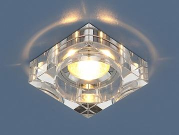 Светильник точ - 9171 SL зеркальный/серебро