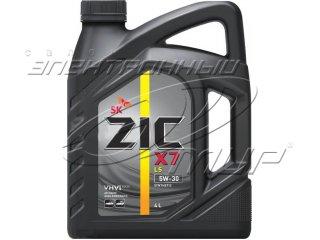 Масло моторное ZIC X7 5w30 4л синт