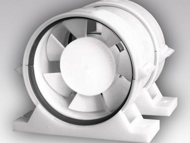Вентилятор осевой канальный ПРО5 приточно-вытяжной