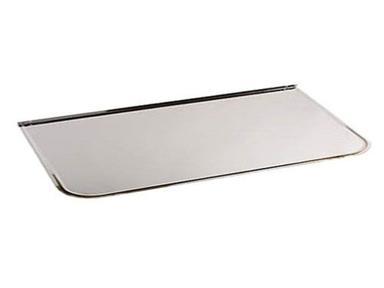 Притопочный лист 1000х600 мм (нерж. сталь 0,5 мм)