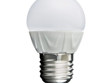 Лампа светод-ая ЭРА Р45-6w-4000-E27 ЭКО