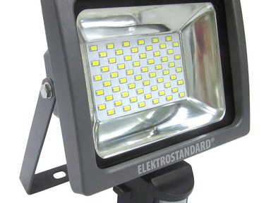 Прожектор светодиодный с датчиком движения 003FL LED 30W а034653