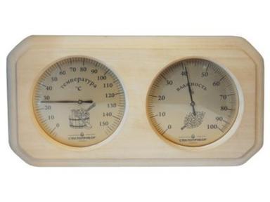 Термогигрометр 8-угольник ТН-22Л (Липа)