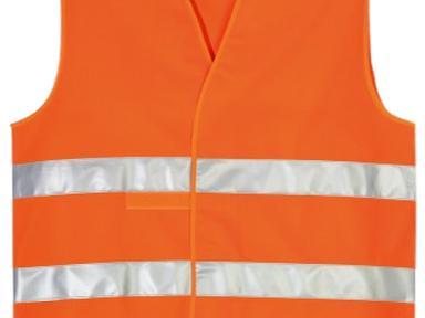 Жилет светоотражающий оранжевый (52-54)