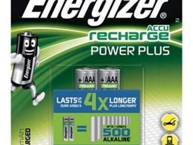 Батарейка аккумулятор*12 ENR Rech Power Plus AAA 700 mAh 2шт/бл