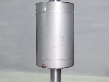 Бак на трубу 63л ф150 круглый