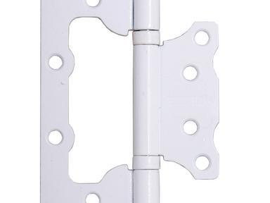 Петля накладная ПНУ-100 белая (12/712)