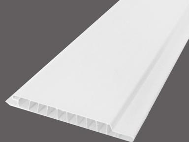 ПВХ Вагонка 3000х100х9 мм Белая