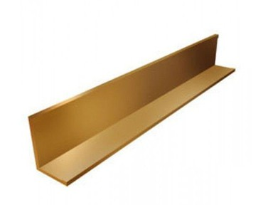 """Уголок пристенный золото 19х24х3м L=3 м, """"LUX"""""""