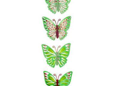 Наклейка бабочки 51-13см