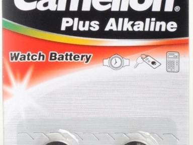 Батарейка G13 для часов Camelion