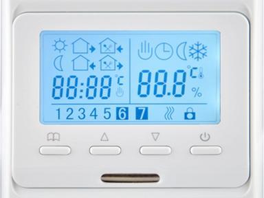 Терморегулятор Рексант с дисплеем и авт.программированием 51-0532,R51XT