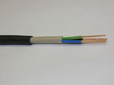 Провод ВВГнг 3х4 мм