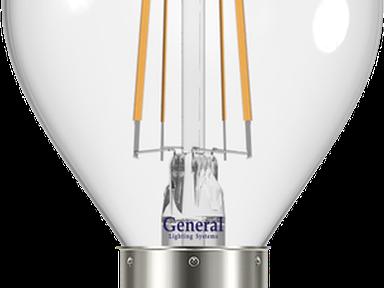 Лампа светод-ая GENERAL GLDEN G45S 6Вт,4500К,Е14,647500