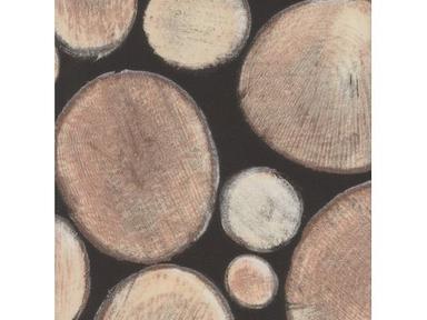 Пленка с/к 0,45м*8м W0444 D&B поленница на черном
