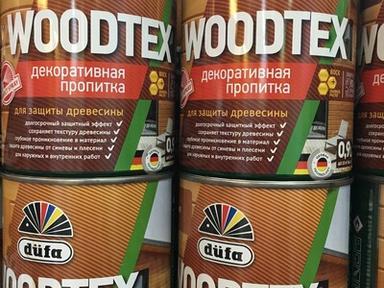 Пропитка Дюфа WOODTEX 0.9л бесцветный д/защиты древесины