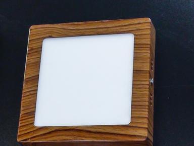 Светильник светодиодный панель 12Вт Венге квадрат
