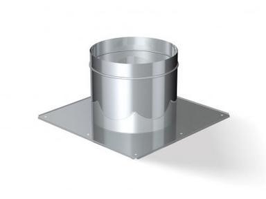 Потолочно проходной узел ф115 нерж. сталь