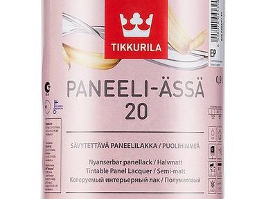 Лак Тиккурила ПАНЕЛИ-ЯССЯ-20 акрилат.п/мат 2,7л