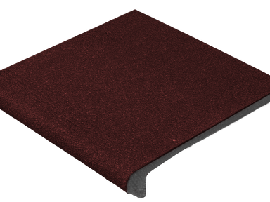 Ступень угловая из бетона 33х33
