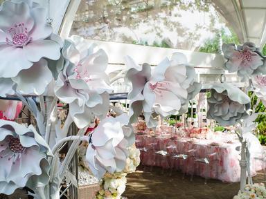 Цветок декорации