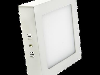 Светильник светодиодный панель 12Вт белый квадрат