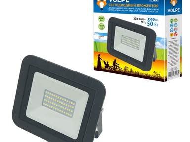Прожектор светод-ный Q-511 50W/DW IP65.черный