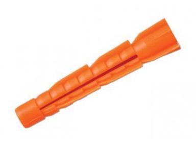 Дюбель пласт. 8х52 (130шт) (оранж)