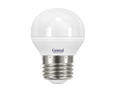 Лампа светод-ая GENERAL GLDEN G45F 10Вт,2700К,Е27,683600
