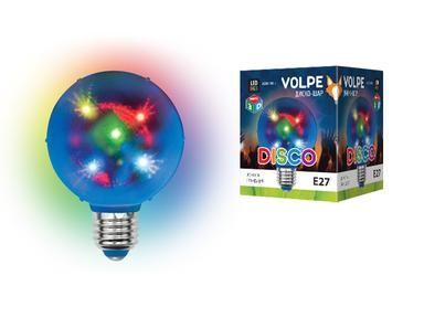 ДИСКО ШАР 3D ULI-Q308 1,5W/RGB/E27