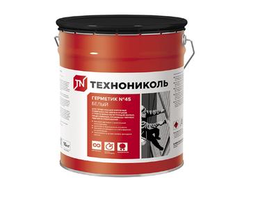 Герметик Технониколь бутил-каучуковый №45 белый 16кг