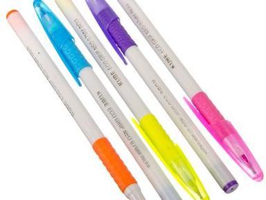 Ручка шариковая 5цв синий