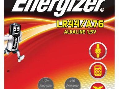 Батарейка ENR миниатюрная А76  2шт/бл