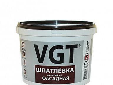 Шпатлевка готовая ВГТ фасадная акриловая 3,6кг