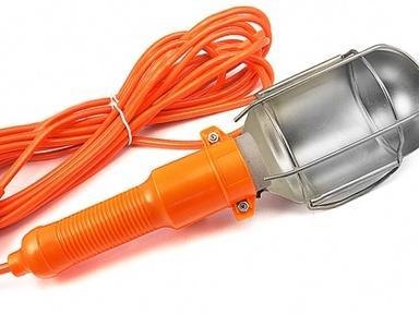 Светильник- переноска LUX ПР-60-05 оранжевый 5 м.
