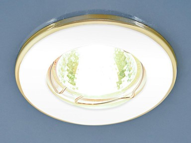 Светильник точечный 7002 MR16 WH/GD белый/золото